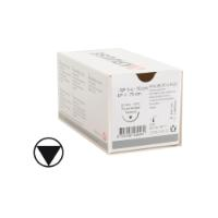 KRUUSE PD-X Plus suture, USP 2-0, 70 cm, 26 mm, ½ C, RB, tapercut, 18 pcs.