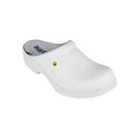 Flex clogs without counter white, size 40