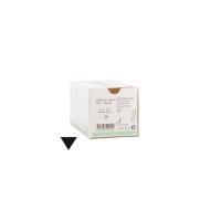 KRUUSE Nylon suture, USP 5-0, 45 cm, 13 mm needle, 3/8 C, RC, 18/pk