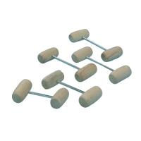 BOVIVET prolapse pins with wooden balls 50 mm, 12/pk
