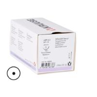 KRUUSE Sacryl suture, USP 4-0, 70 cm, needle: 24 mm, round bodied - taper-point, ½ circle. 18/pk