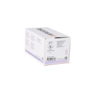 KRUUSE Sacryl suture, USP 6-0, 70 cm, needle: 16 mm, reverse cutting, 3/8 circle. 18/pk