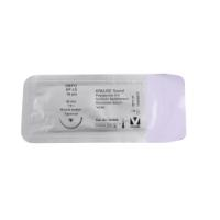 KRUUSE Sacryl suture, USP 0, 70 cm, 30 mm, ½C, RB, Tapercut, 18 pcs.