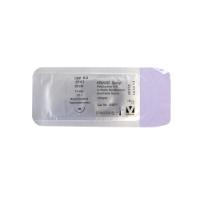 KRUUSE Sacryl suture, USP 6-0, 30 cm, undyed, 13 mm needle, ½C, round bodied taperpoint extra, 18/pk