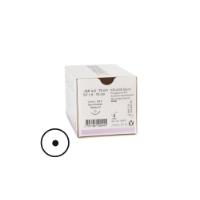 KRUUSE Sacryl suture, USP 4-0, 70 cm, violet, 13 mm needle, 3/8C, round bodied taperpoint, 18/pk