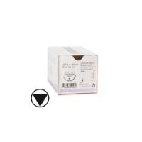 KRUUSE Sacryl suture, USP 2-0, 90 cm, violet, 36 mm needle, 1/2C, round bodied taperpoint, 18/pk