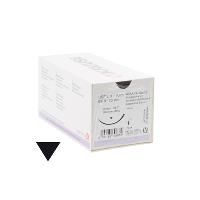KRUUSE Sacryl suture, USP 2-0/EP 3, 70 cm. Neelde: 36 mm, 3/8C, Reverse Cutting, 18/pk
