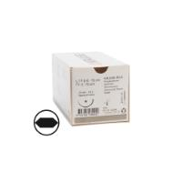 KRUUSE PD-X suture, USP 2-0, 70 cm, 30 mm, ½ C, RB, taperpoint extra, 18 pcs.