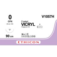 Vicryl suture 0, w/needle CPX, 90 cm, 36/pk