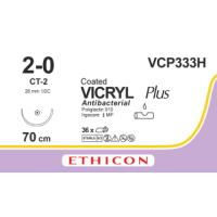 Vicryl Plus USP 2/0, CT-2 needle, 70 cm
