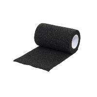 KRUUSE Vet-Flex 10 cm x 4,5 m, black, 10/pk