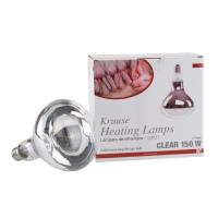 KRUUSE heating lamp, 150W, clear, 2/pk