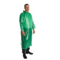 KRUTEX disposable non-sterile gown, green, 25/pk