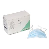 Disposable mask blue, 60/pk