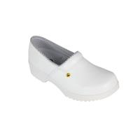 Flex clogs with counter white, size 37