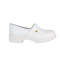 Flex clogs with counter white, size 43