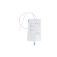 KRUUSE Urine bags, 750 ml, Luer lock, 10/pk