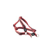 BUSTER Reflective Mesh Step-in Harness, Red/Red, XL, 25mm