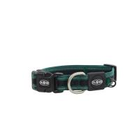 BUSTER Reflective Mesh Collar, Green/Green, M, 25mm (34-50cm)