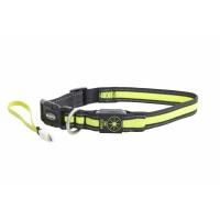 BUSTER Mesh LED Collar, Yellow, S/M (40-45 cm)