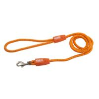 BUSTER Reflective Rope 120 cm Lead, Orange, 8mm