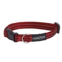 BUSTER reflective collar, adjustable, 15x280-400 mm, red