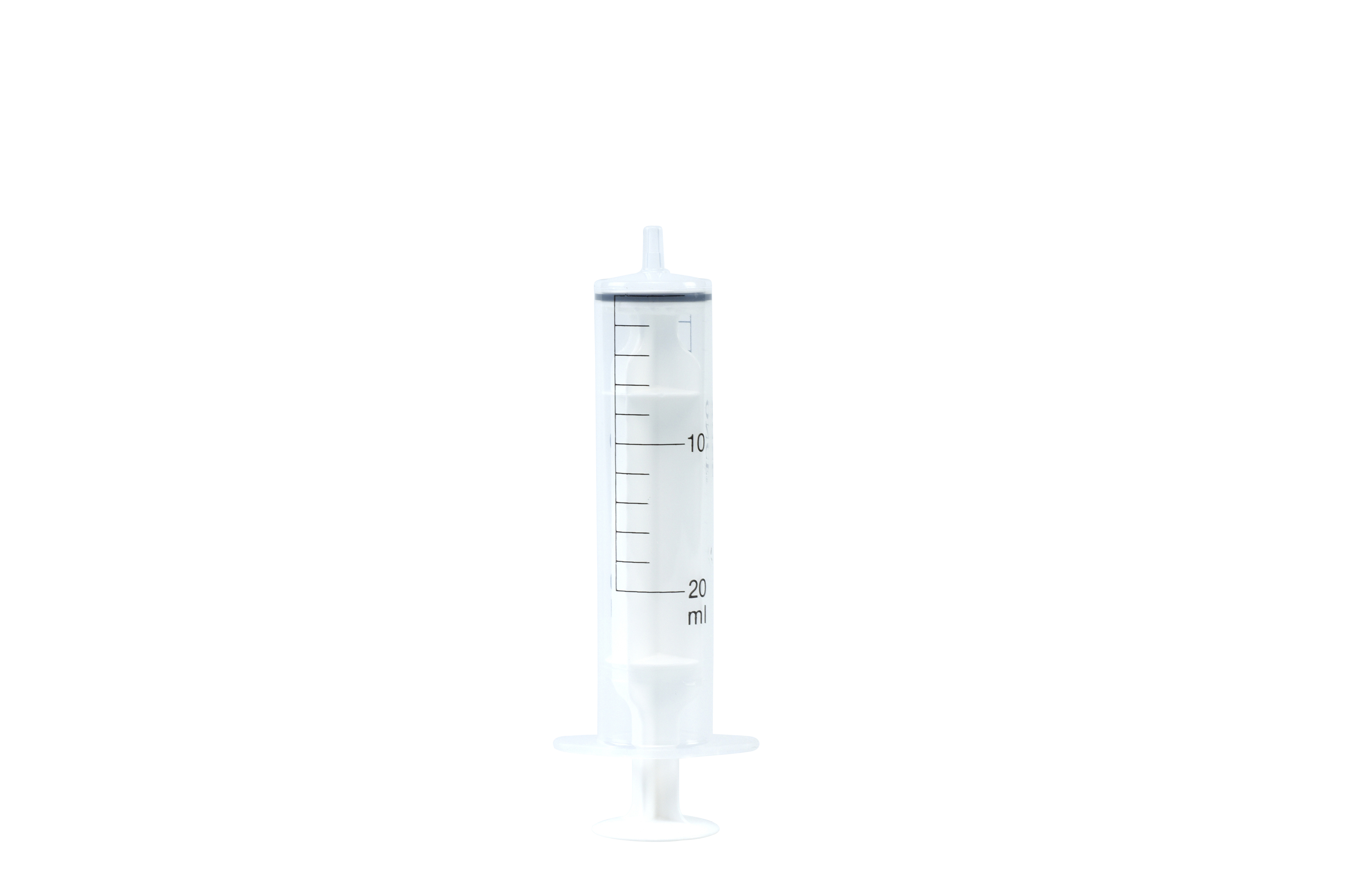 Once disposable syringe luer 20 ml, 50/pk