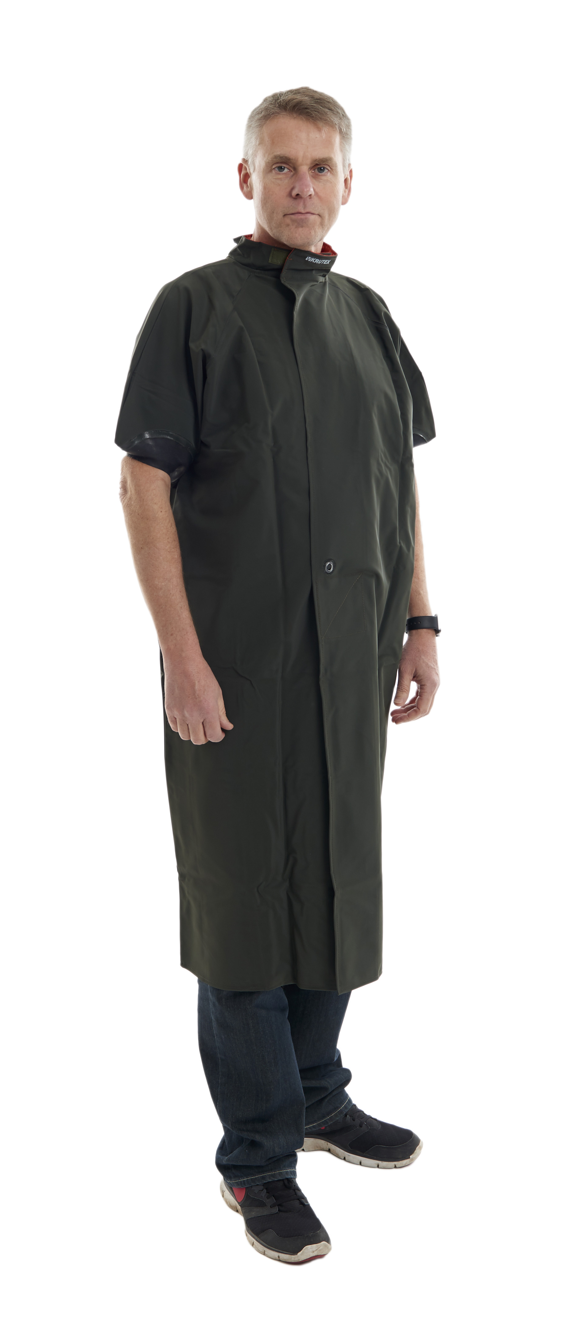 KRUTEX obstetric gown with velcro 130 cm