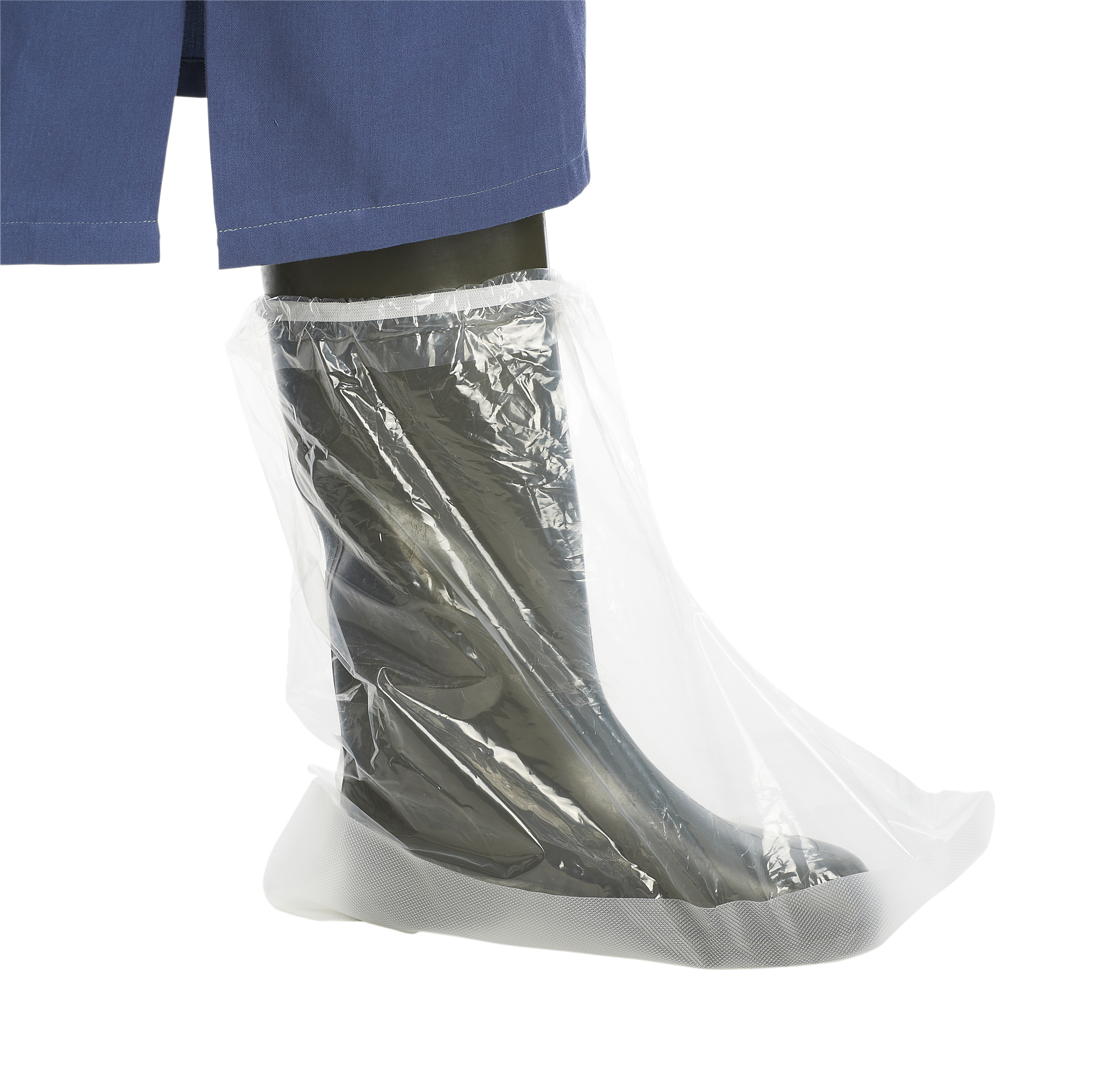 KRUTEX Non-slip disposable boot cover, XXL, 20/pk