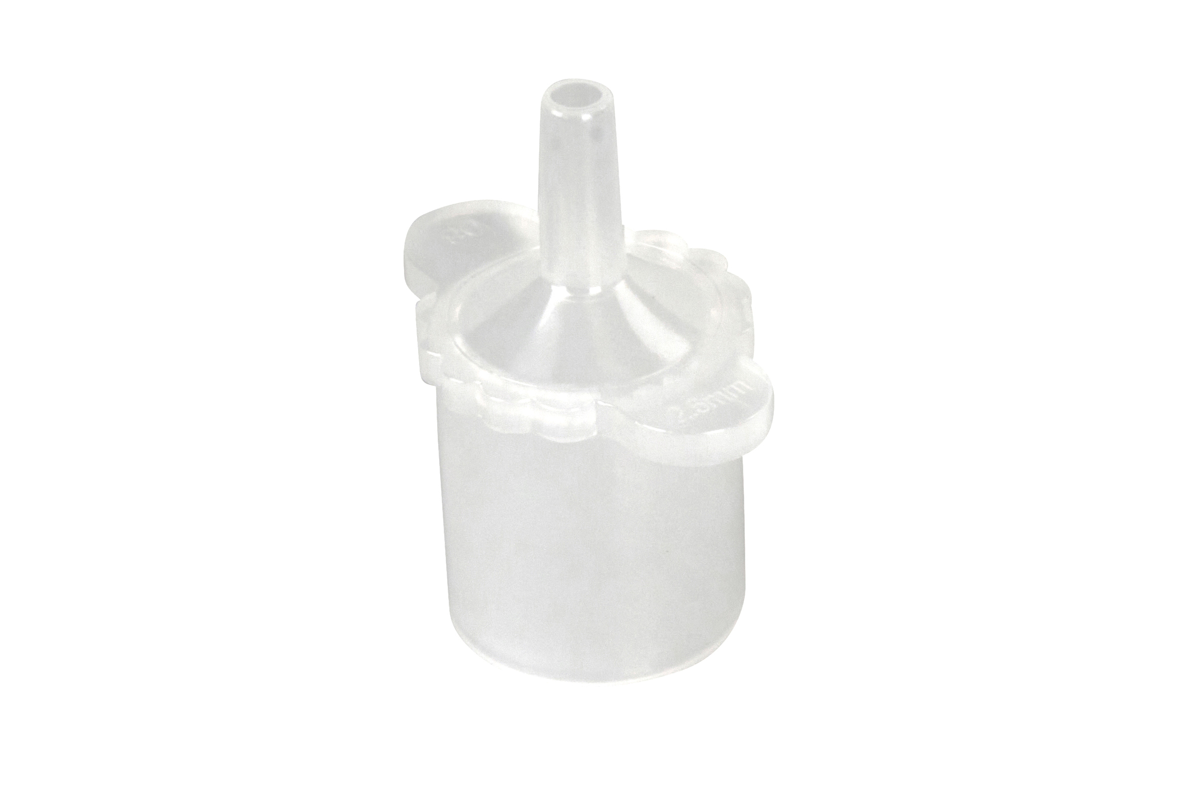 KRUUSE Connector for Endotracheal Tube 2.5 mm, 5/pk