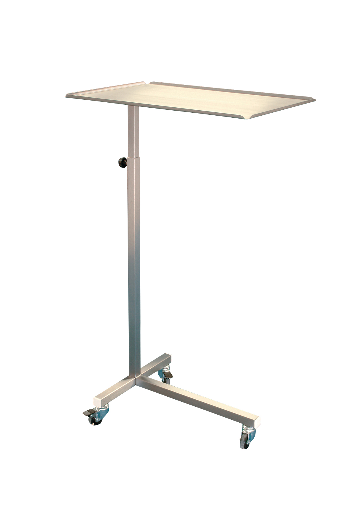 Mobile instrument table, 60 x 40 cm, height: 90-135 cm