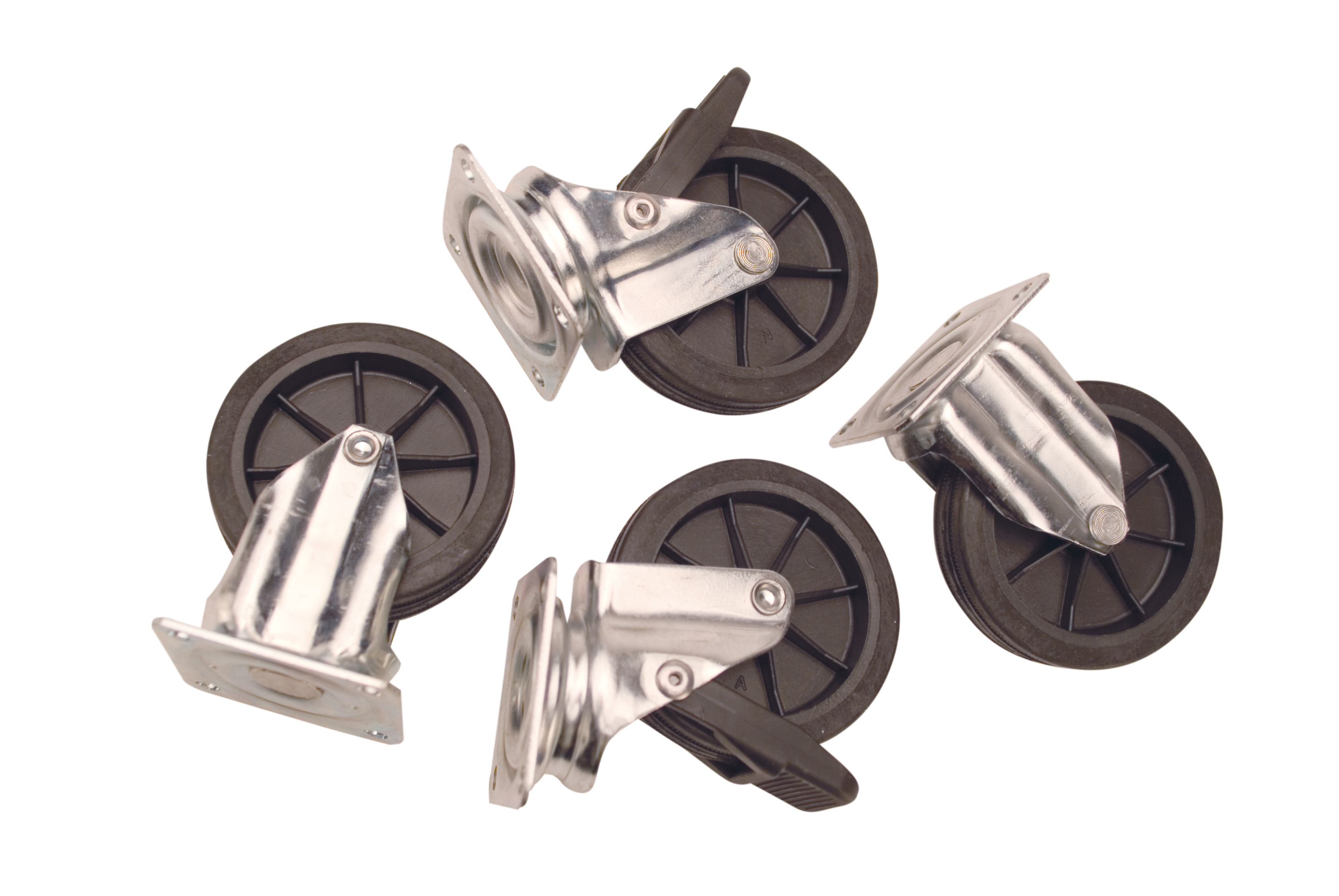 Set of 4 wheels for Cayman, size 4-7