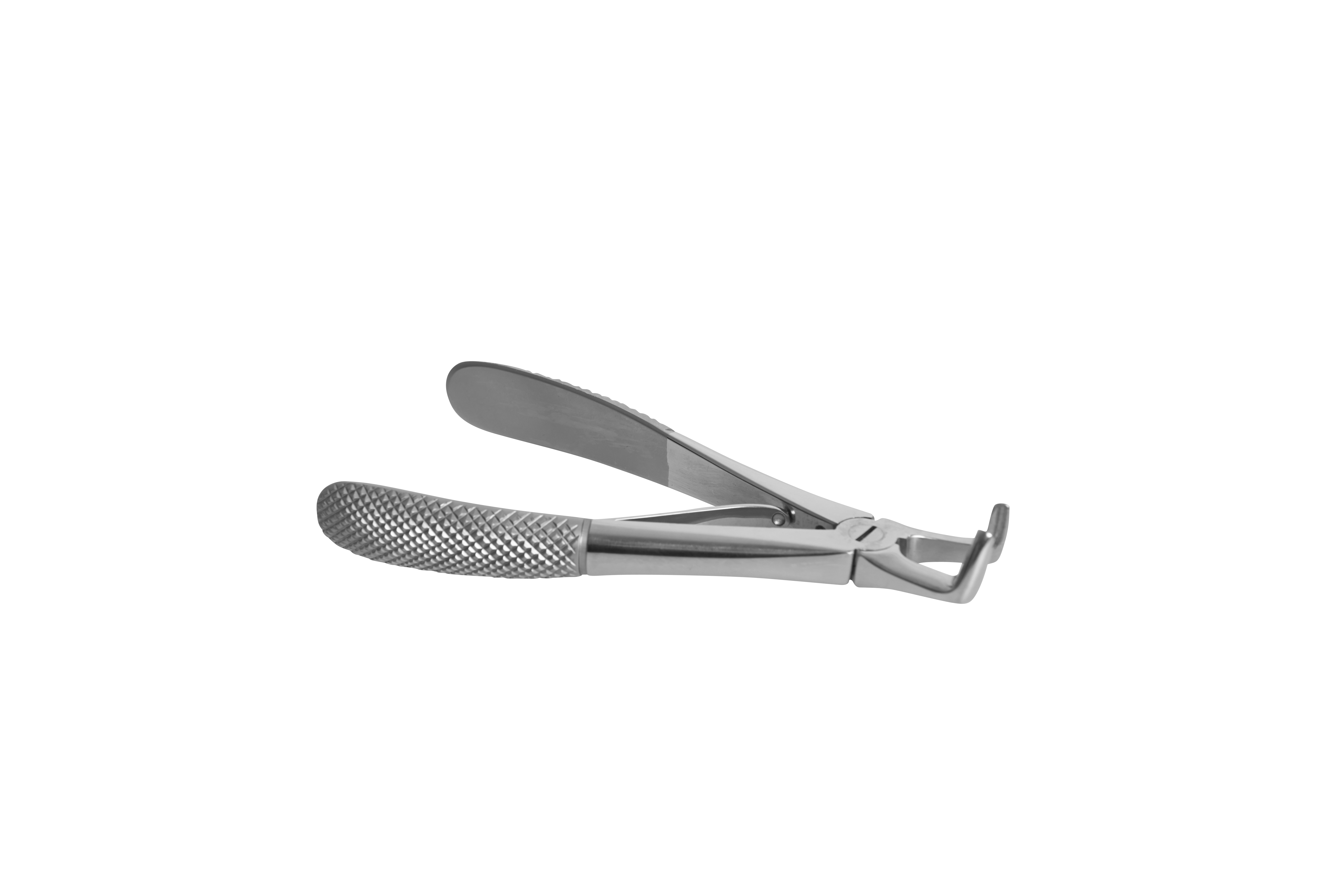 KRUUSE Extraction Forceps, right angled