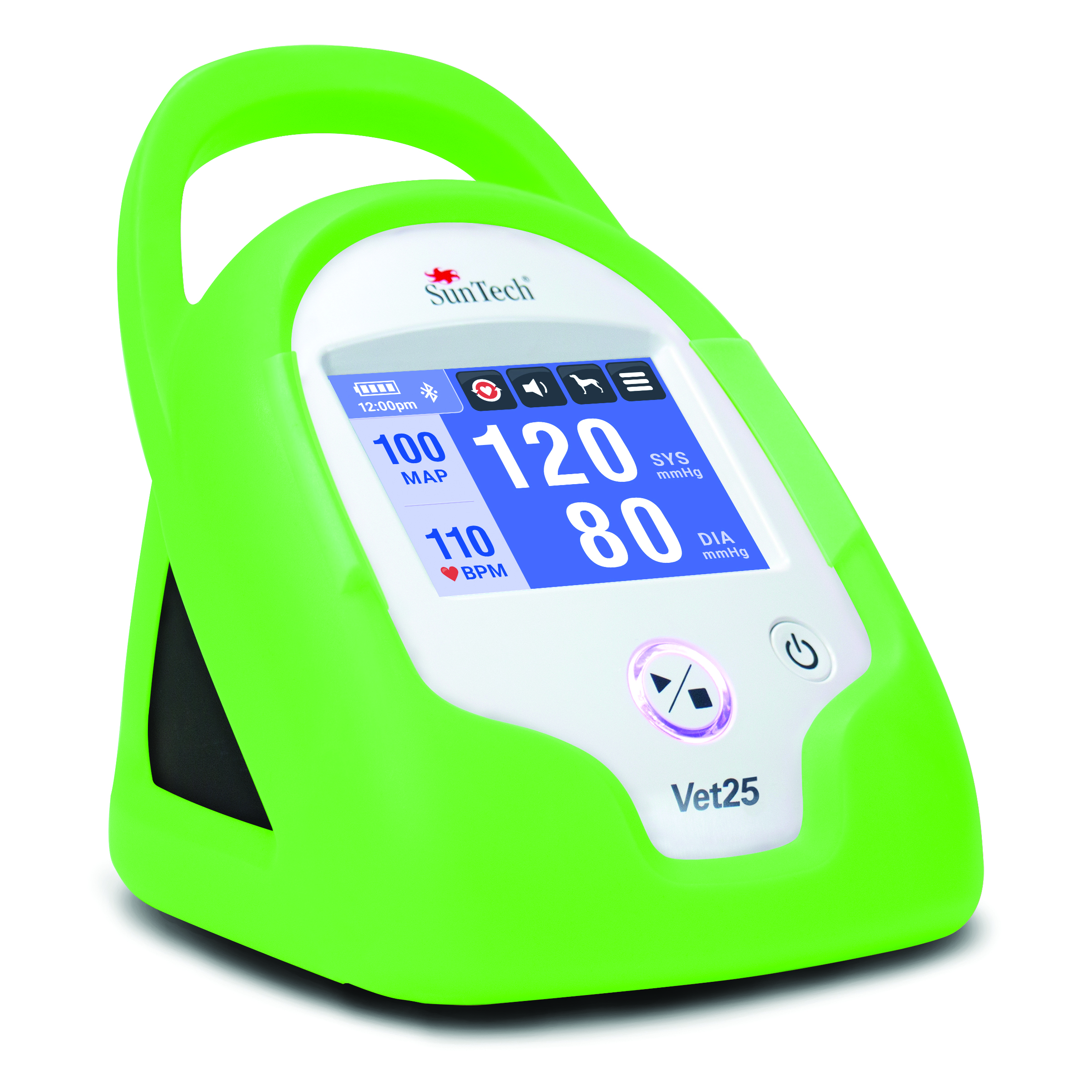 SunTech Vet25 Monitor w/SunTech BP, Tree Frog Green Armour