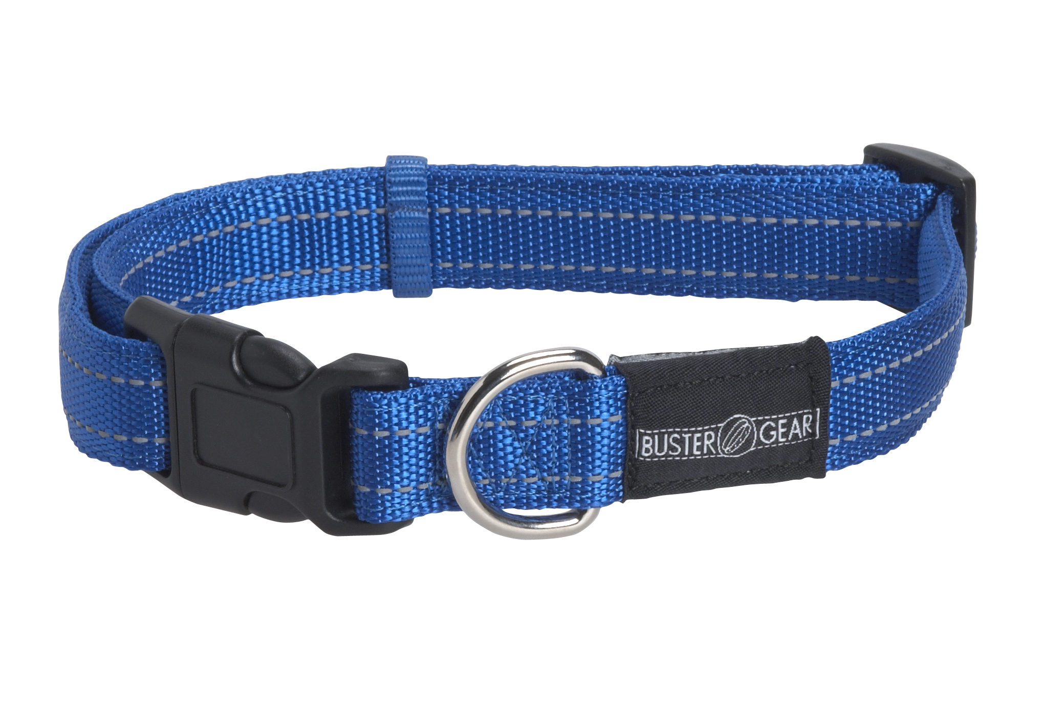 BUSTER reflective collar, adjustable, 25x450-650 mm, blue